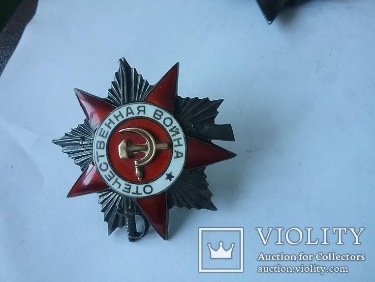 Комплект наград на капитана Смерш, фото №8