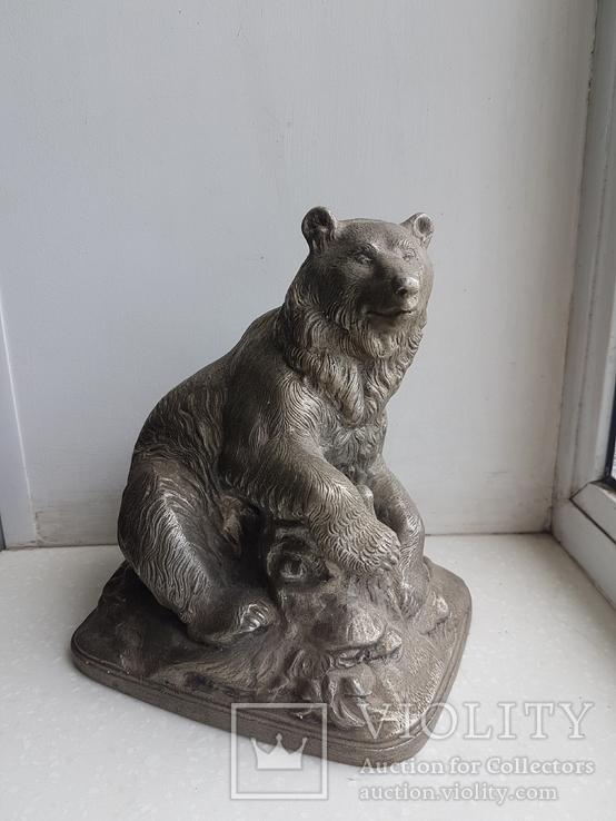 Скульптура Медведь Ленинград з-д монументскульптур. 1962 г., фото №2