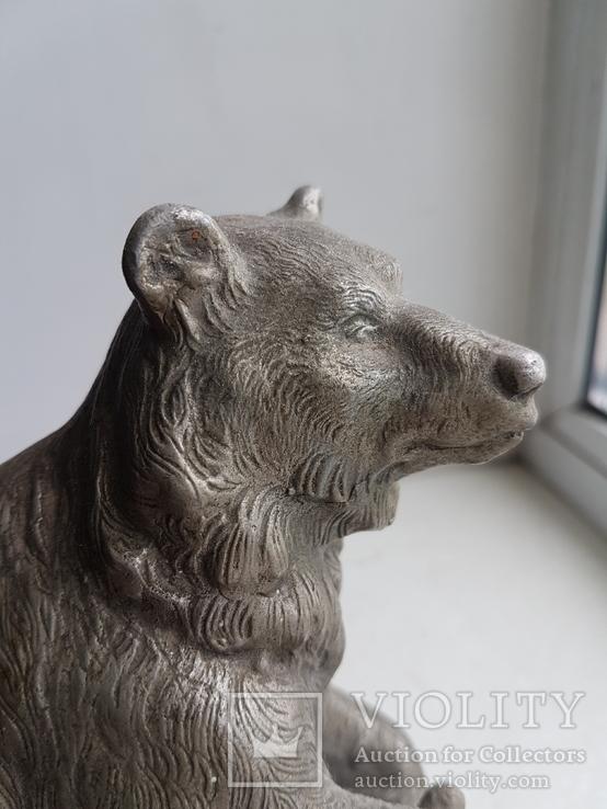 Скульптура Медведь Ленинград з-д монументскульптур. 1962 г., фото №4