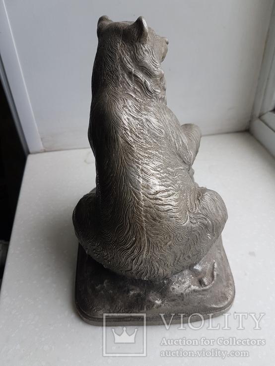 Скульптура Медведь Ленинград з-д монументскульптур. 1962 г., фото №7