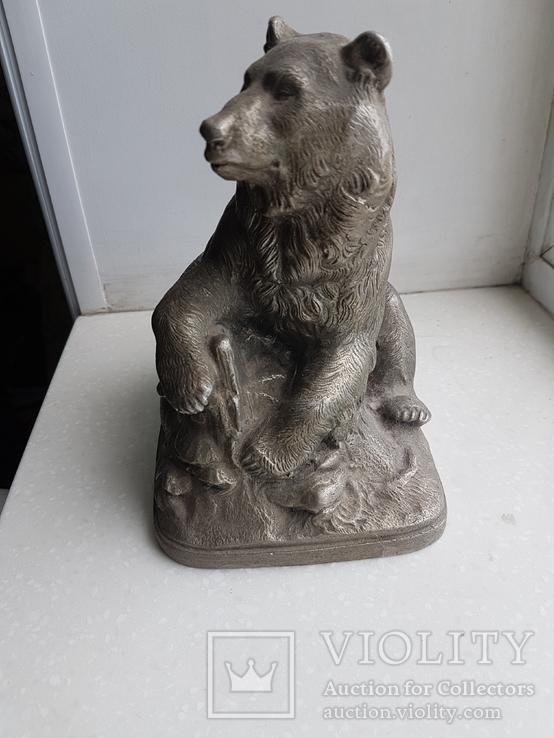 Скульптура Медведь Ленинград з-д монументскульптур. 1962 г., фото №11