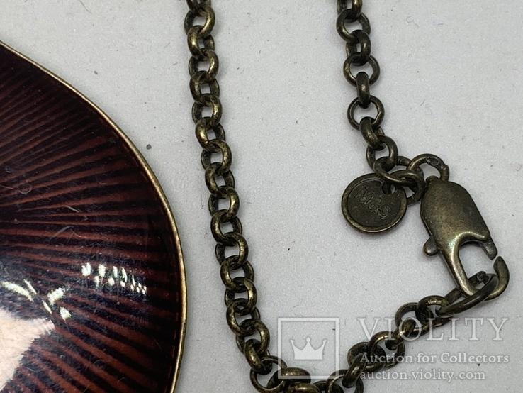 Кулон на цепочке от Английского бренда Marks & Spenser, фото №4