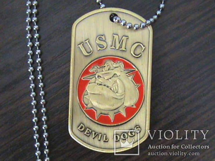 Жетон морской пехоты армии США, фото №2