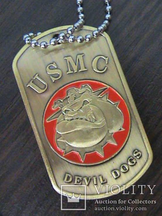 Жетон морской пехоты армии США, фото №4