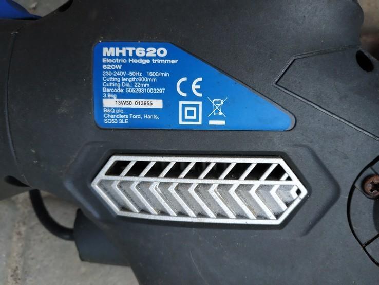Кусторез Mac Allister Mht 620 Electric Corded Hedge Trimmer Cutter, фото №4
