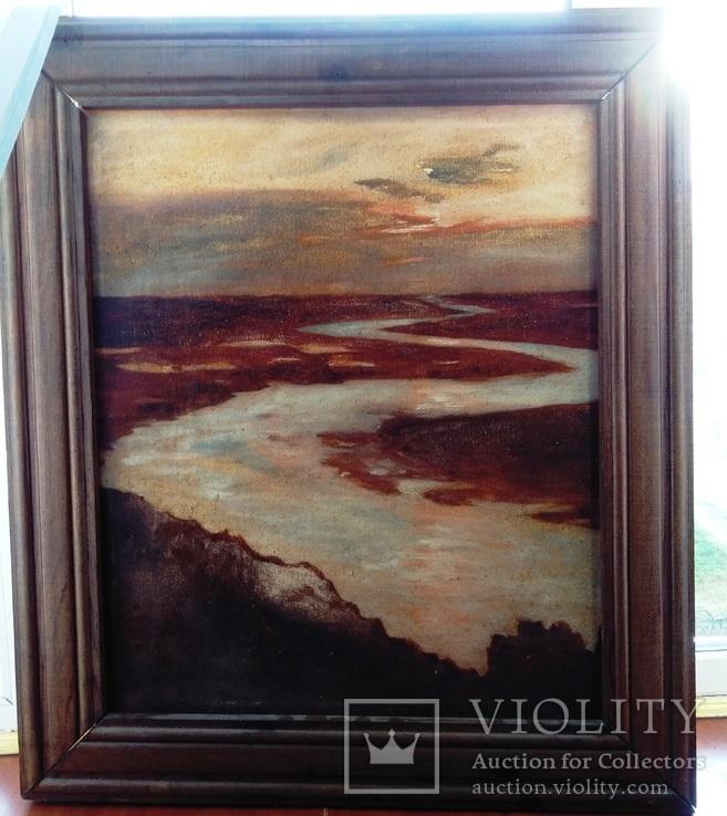 Восход на реке., фото №2