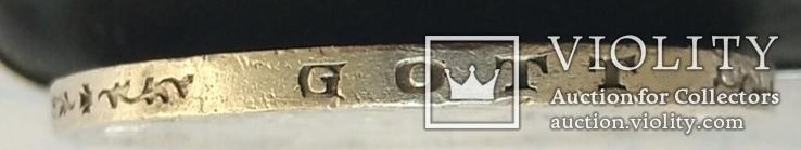 Монета ТРИ МАРКИ 1913 года. Серебро., фото №4