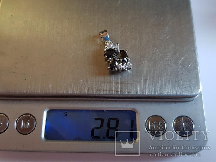Подвес серебро 925 проба. Вес 2.80 г., фото №7