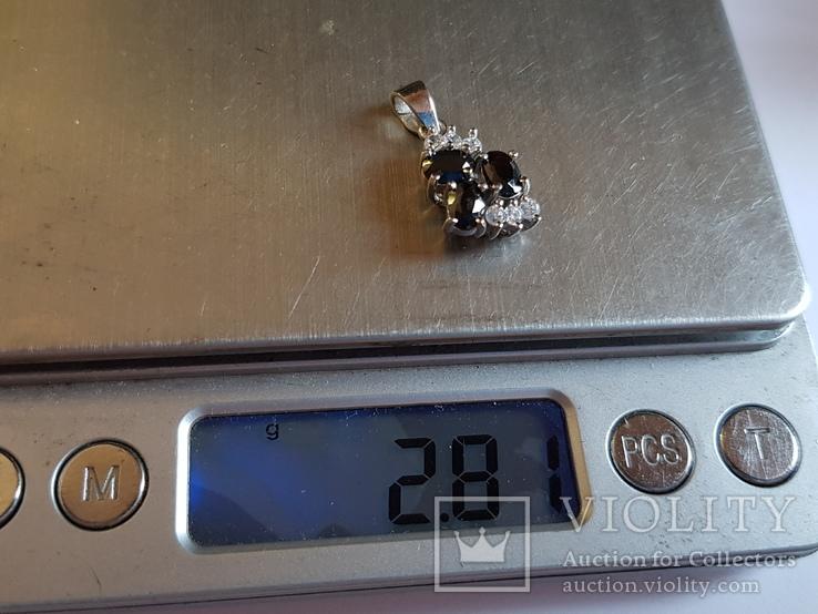 Подвес серебро 925 проба. Вес 2.80 г., фото №8