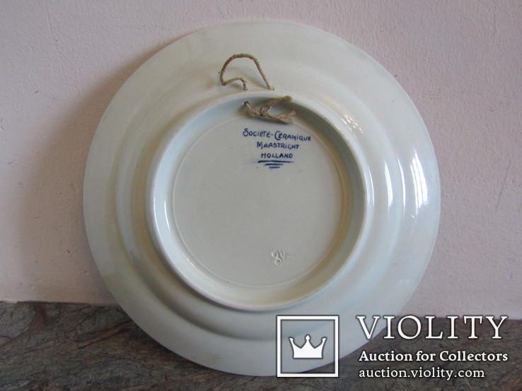 Настенная тарелка ко дню Победы с поверженной свастикой, фото №10
