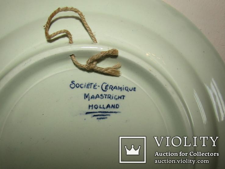 Настенная тарелка ко дню Победы с поверженной свастикой, фото №11