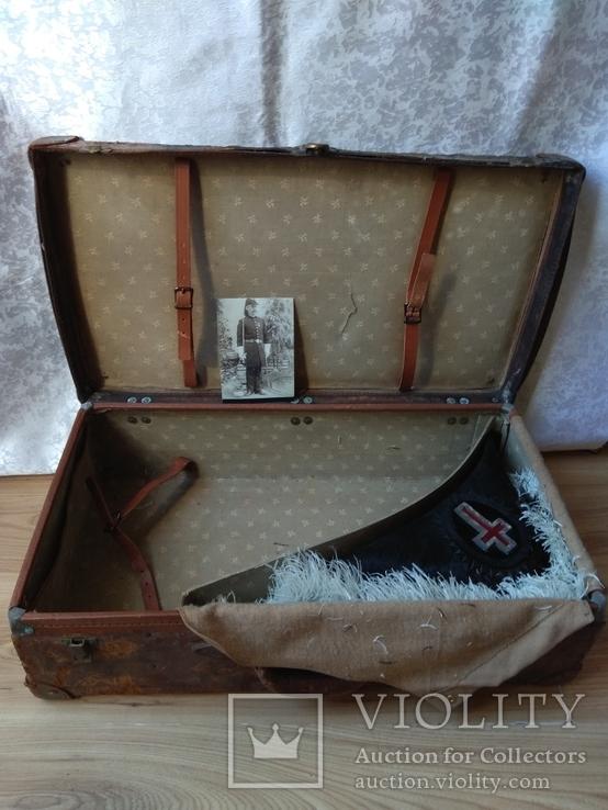 Церемоніальний масонський капелюх валіза MC Lilley & Co. Columbus Ohio Ceremonial Hat, фото №6