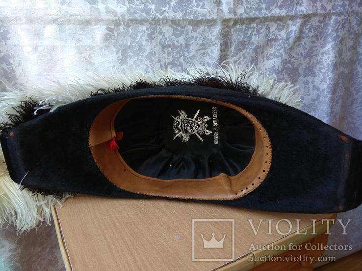 Церемоніальний масонський капелюх валіза MC Lilley & Co. Columbus Ohio Ceremonial Hat, фото №13