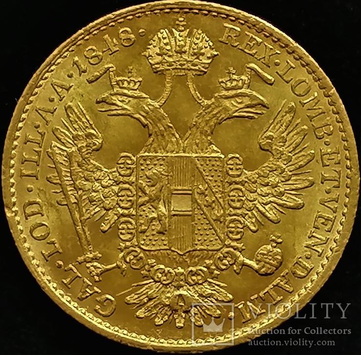 1 дукат 1848 року, Австро-Угорщина, Фердинанд І UNC