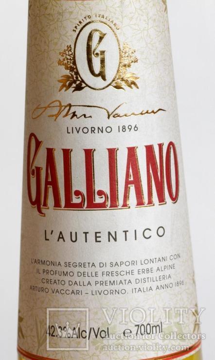 Ликер Galliano 0.7L Italy, фото №5