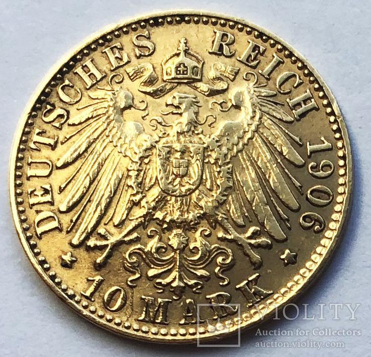 10 марок 1906 года. Гамбург.