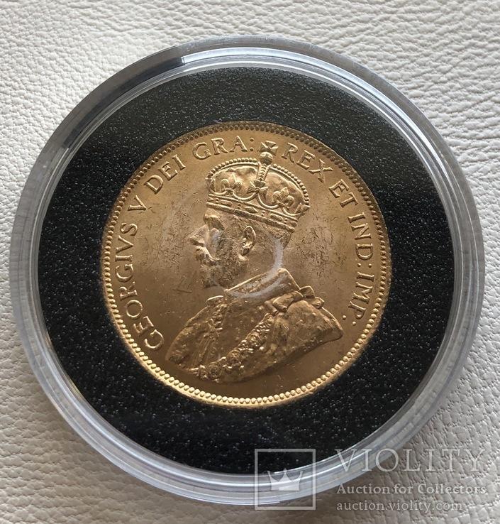 10$ 1914 год Канада золото 16,72 грамма 900'