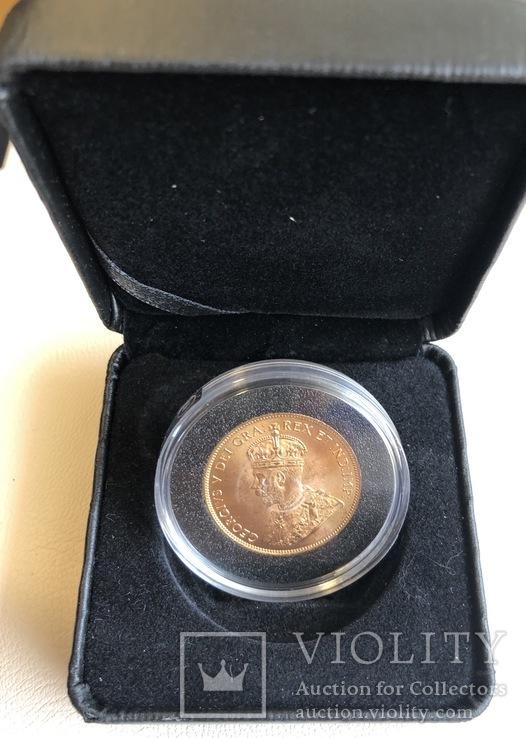 10$ 1914 год Канада золото 16,72 грамма 900', фото №6