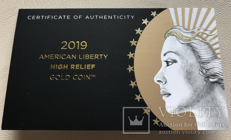 100 $ 2019 года США золото 31,1 грамм 999,9', фото №7