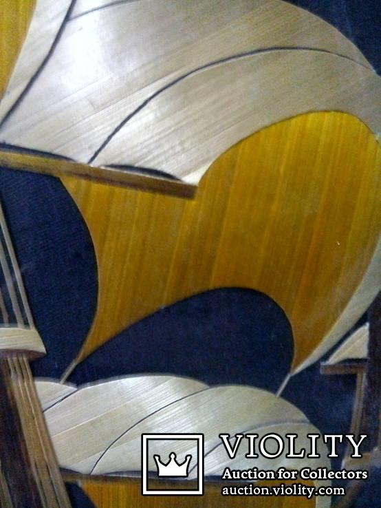 Картина аппликация Парусник 29х40 М10, фото №3