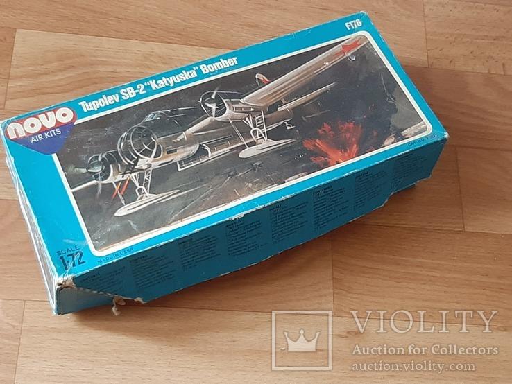 Сборная модель самолета СБ2  NOVO М 1:72, фото №3