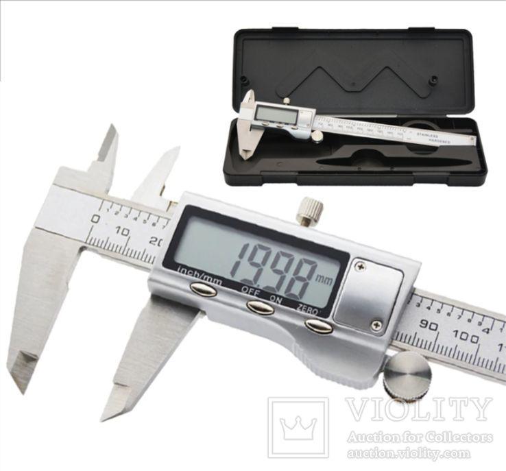 Штангенциркуль Цифровой 0-150 мм, фото №2