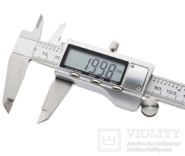 Штангенциркуль Цифровой 0-150 мм, фото №4