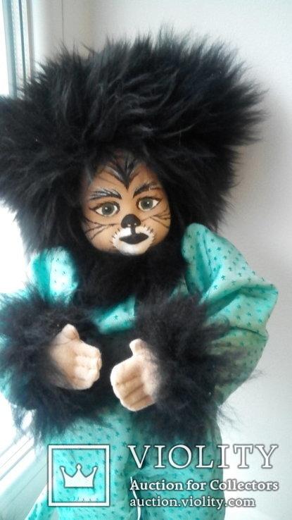 Кукла кошка 50см Glorex Глорекс Швейцария