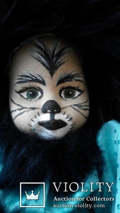 Кукла кошка 50см Glorex Глорекс Швейцария, фото №3