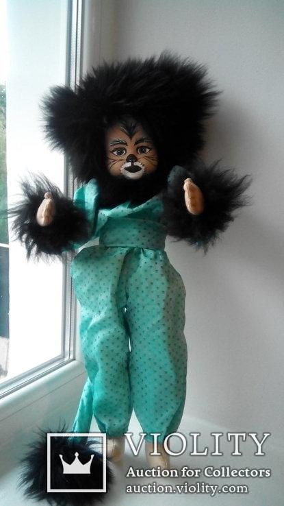 Кукла кошка 50см Glorex Глорекс Швейцария, фото №4