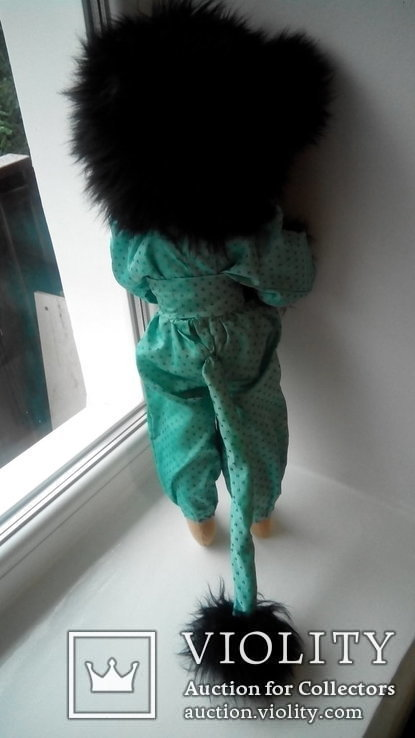 Кукла кошка 50см Glorex Глорекс Швейцария, фото №5