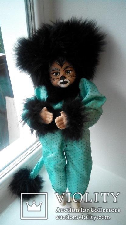 Кукла кошка 50см Glorex Глорекс Швейцария, фото №6