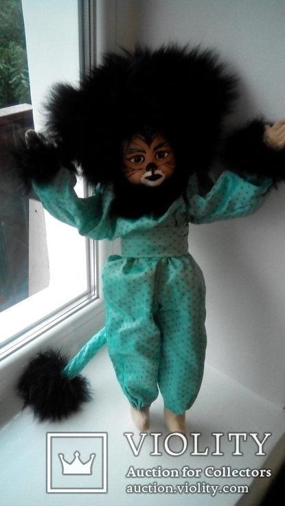 Кукла кошка 50см Glorex Глорекс Швейцария, фото №7