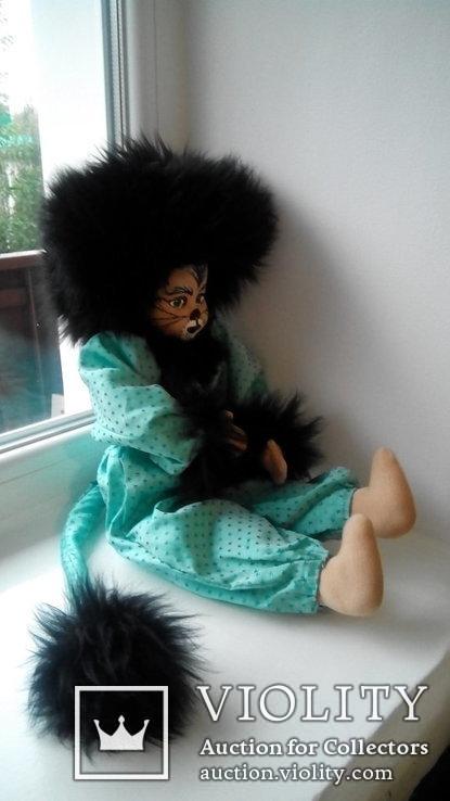 Кукла кошка 50см Glorex Глорекс Швейцария, фото №8