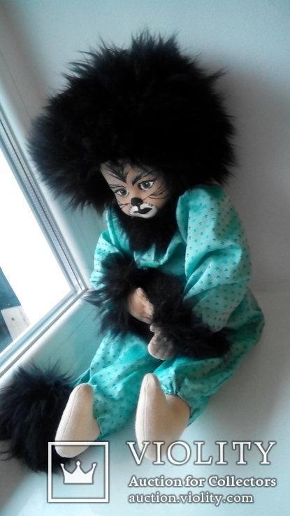 Кукла кошка 50см Glorex Глорекс Швейцария, фото №9