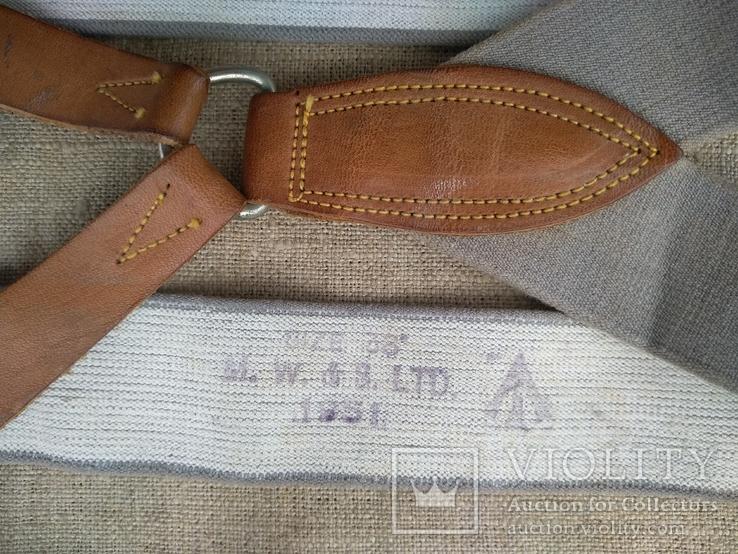 Подтяжки 1951 M. W. & S. Ltd, фото №3