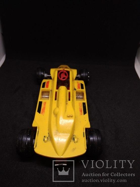 Гоночная машина 72 СССР ( жёлтая), фото №5