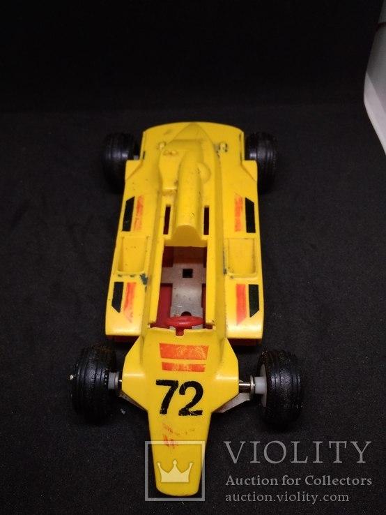 Гоночная машина 72 СССР ( жёлтая), фото №7