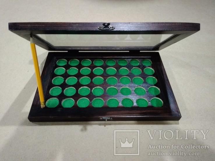Витрина для монет диаметром до 26 мм