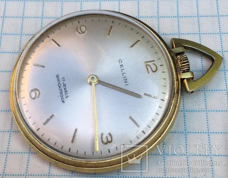 Наградные часы Cellini., фото №4