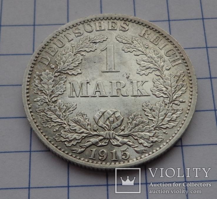 1 марка 1915 г.  А, фото №2
