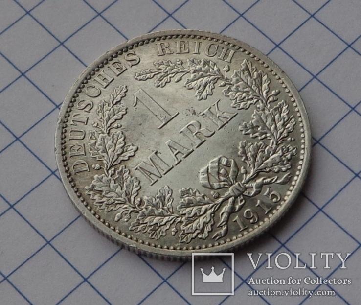 1 марка 1915 г.  А, фото №4
