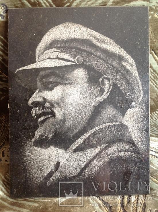 Портрет Ленина на граните, фото №3