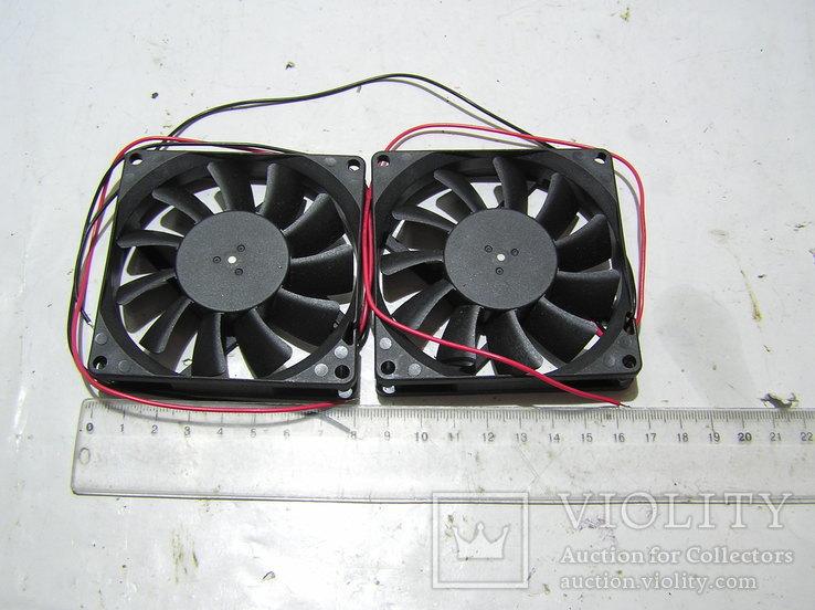Вентиляторы. 2 штуки., фото №5