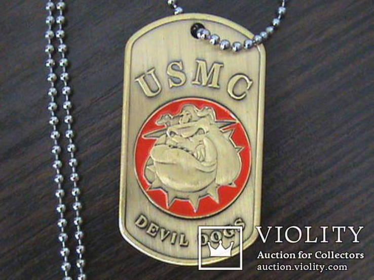 Жетон морской пехоты US.Army