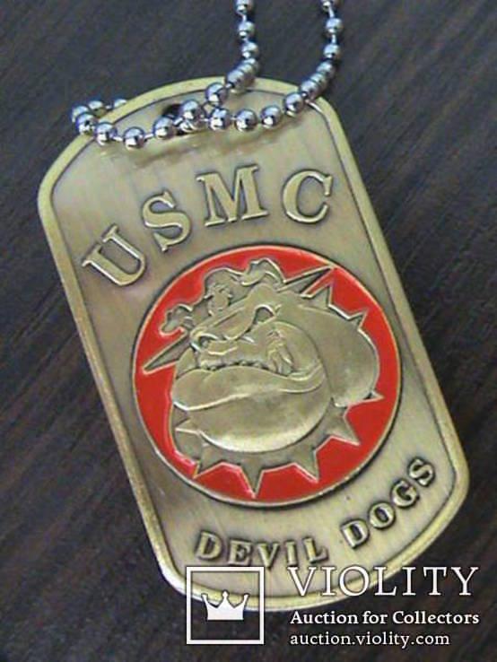 Жетон морской пехоты US.Army, фото №4