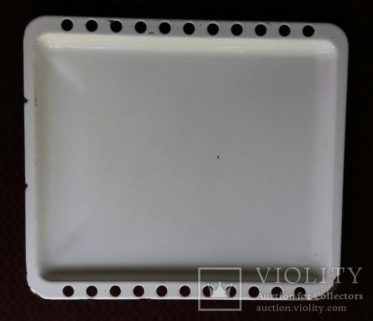 Противень металлический эмалированный 42*37, фото №2