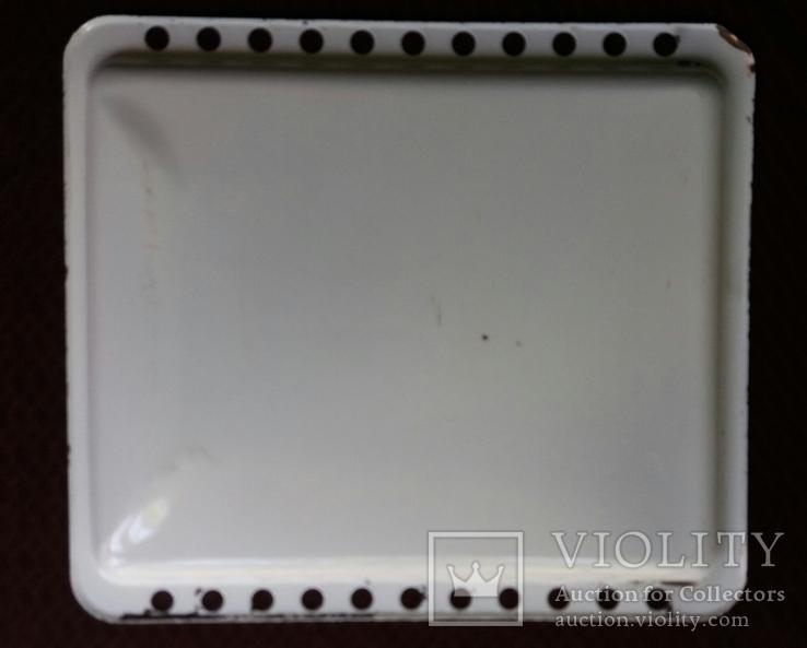 Противень металлический эмалированный 42*37, фото №3