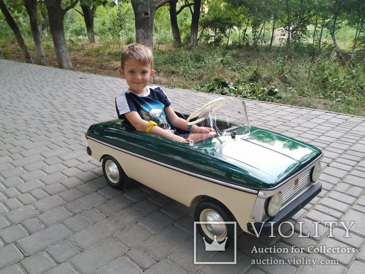 АЗЛК (педальная машина) - 0578, фото №4
