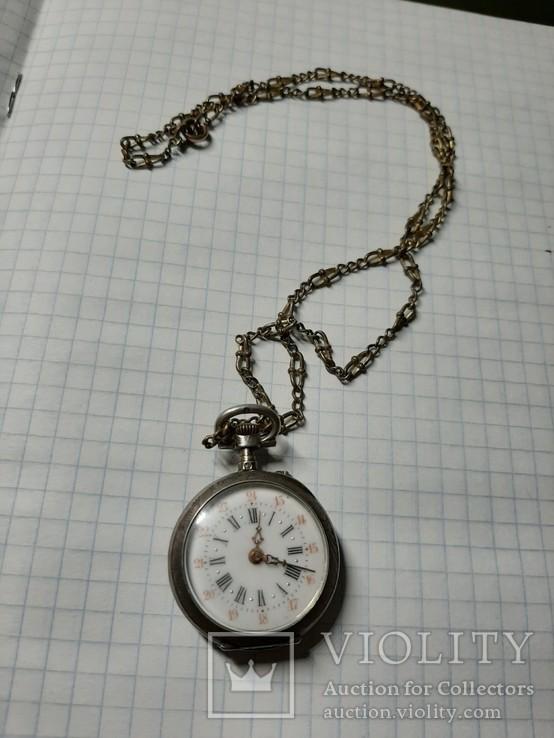 Часы карманные механические, фото №2